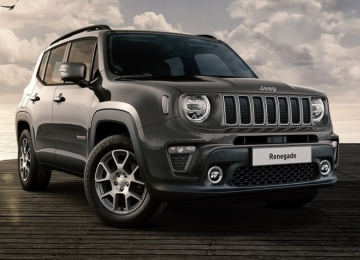 Jeep Renegade 1.6 Mjt 120 CV LIMITED granite cristal